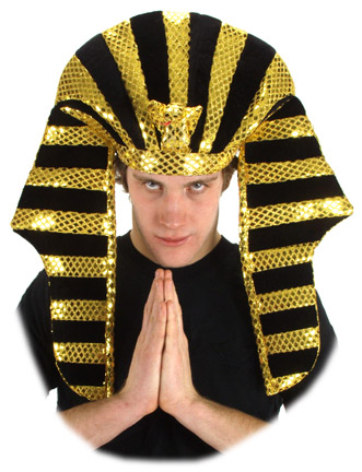 Adult Sequin King Tut Hat