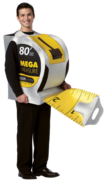 Adult Tape Measure Costume