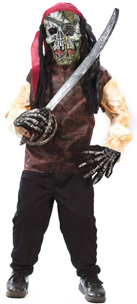 Child's Easy Pirate Costume