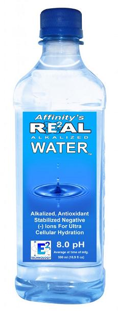 1 Liter Alkaline Bottled Water