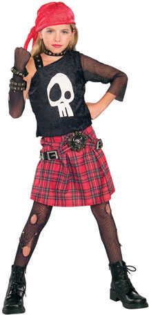 Child's Punk Pirate Costume