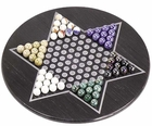Marble Chinese Checkers Game Set