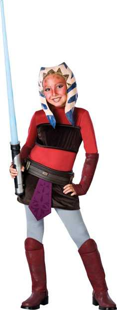Child's Clone Wars Deluxe Ashoka Costume