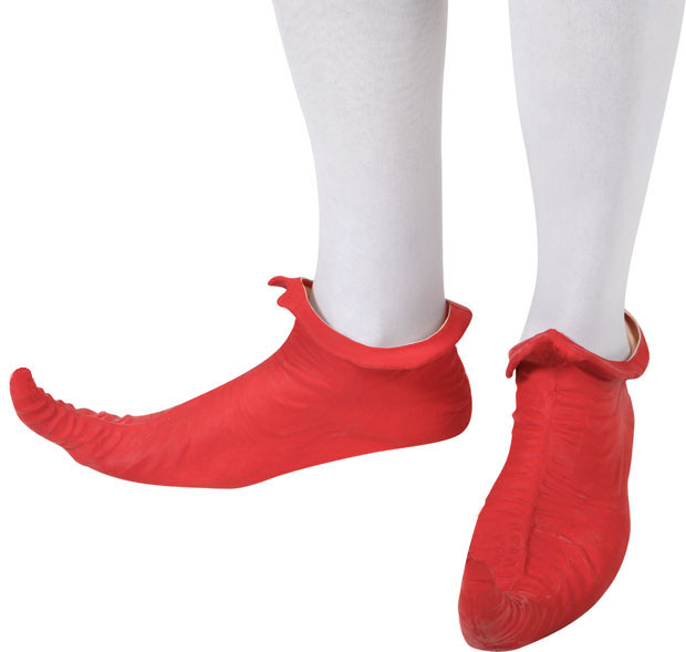 Adult Red Elf Shoes