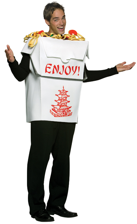 Adult Chinese Takeout Costume