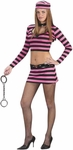 Teen Diva Prisoner Girl Costume