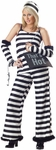 Women's Paris Hilton Prisoner Costume