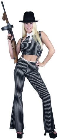 Sexy Gangster Moll Costume