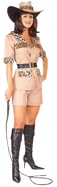 Adult Women's Lion Tamer Costume
