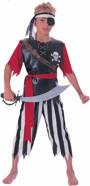 Child's Pirate King Costume