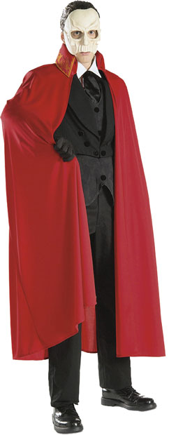 Adult Phantom of the Opera Cape
