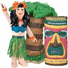 Hawaiian Luau Party Pinatas