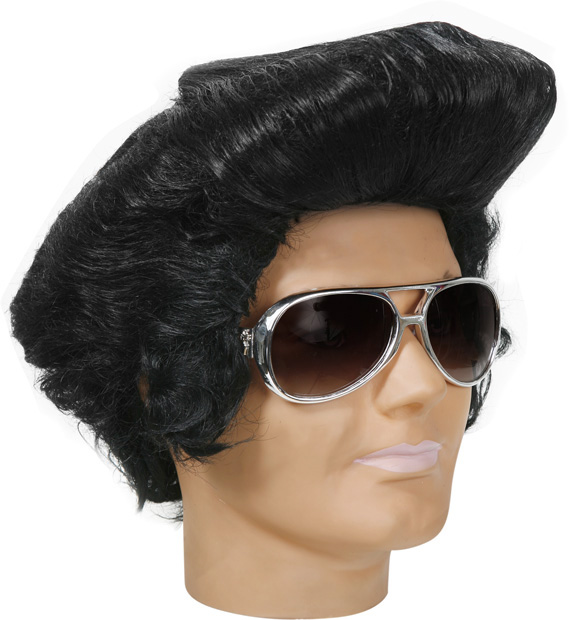 Adult Oversized Rock And Roll Elvis Wig