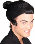 Adult Japanese Man Costume Wig