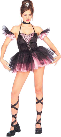 Teen Dark Ballerina Costume