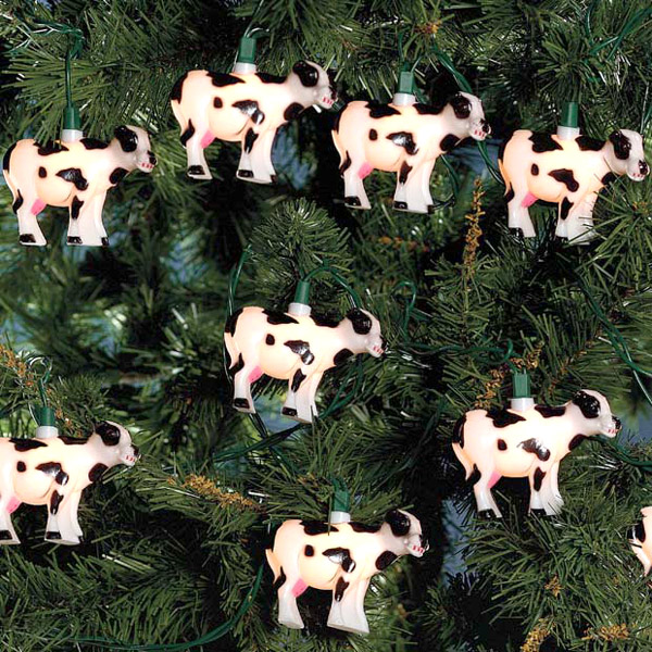 Cows String Lights Set