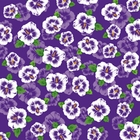 Purple Hibiscus Flower Bandanas