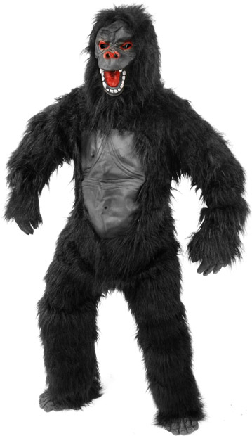Adult Gorilla Ape Costume