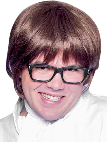 Men's Austin Powers Costume Wig