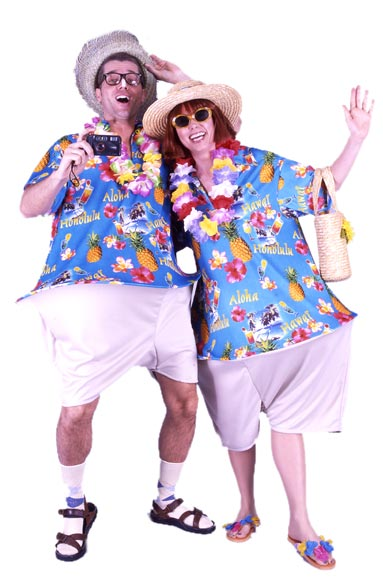 Adult Wacky Tourist Costume