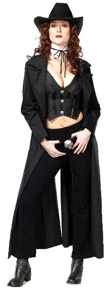 Women's Sexy Gunslinger Costume