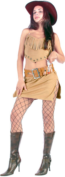 Sexy Wild West Girl Costume