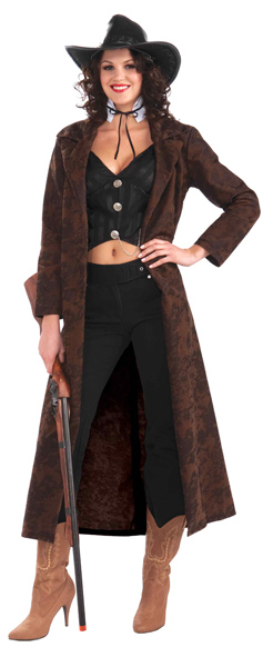 Wild West Shotgun Girl Costume