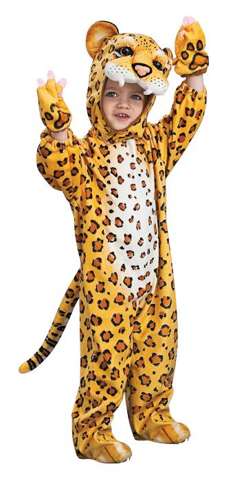 Toddler Deluxe Leopard Costume