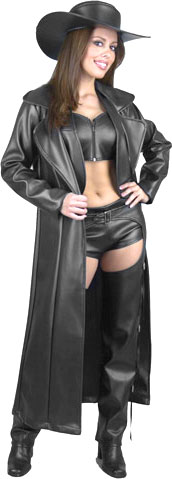Ladies Duster Coat Costume