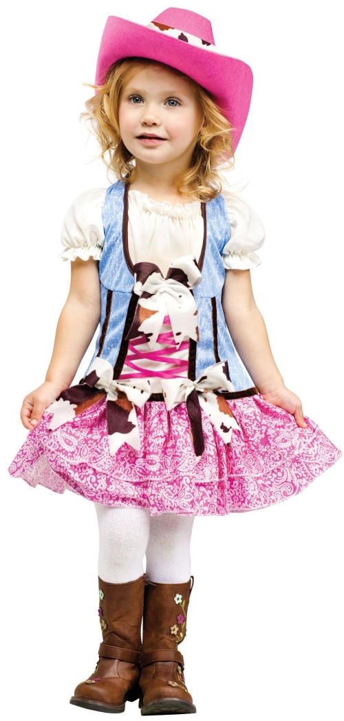 Girl's Rodeo Cowgirl Costume