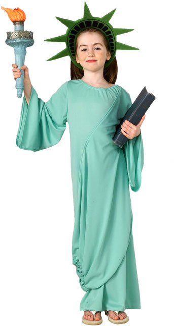 Child's Statue of Liberty Costume