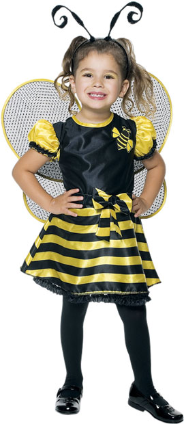 Toddler Cute Bumble Bee Costume