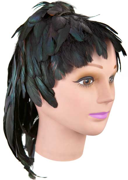 Feather Party Wig