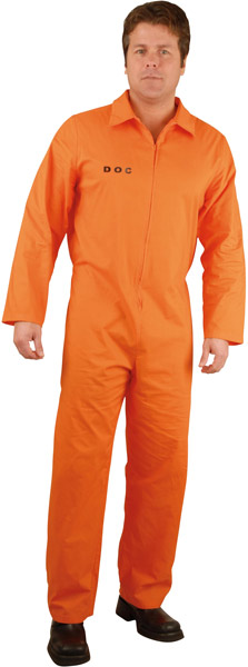 Adult Prison Jumpsuit Costume