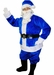 Blue Santa Suit Christmas Costume