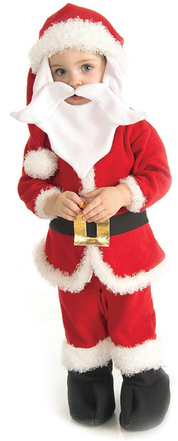 Toddler Santa Christmas Costume