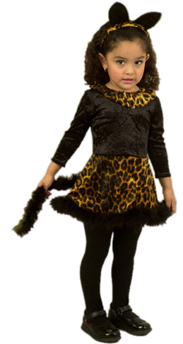 Toddler Cat Dress Costume
