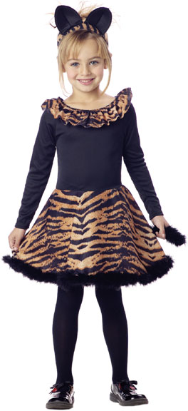 Child's Tiger Dress Costume