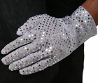 Adult Silver Sequin Glove