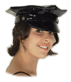 Sexy Black Police Hat