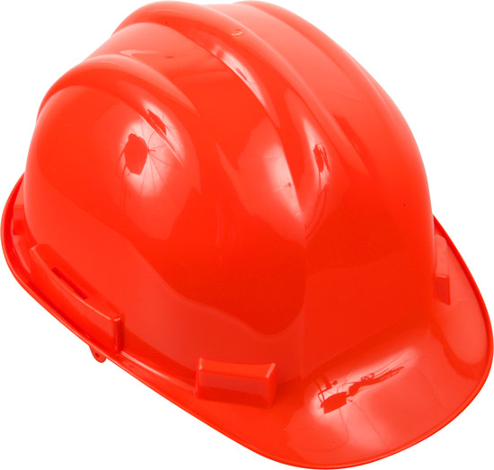 Safety Orange Hard-Hat