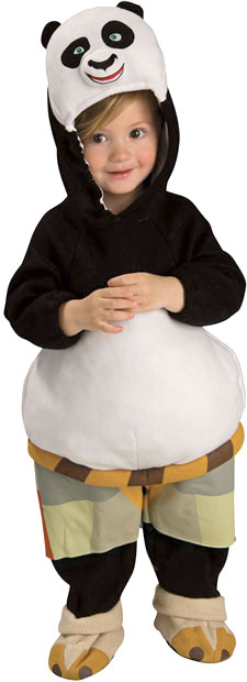 Deluxe Child's Kung Fu Panda Costume