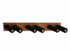 Omni Directional Oak Ski & Snowboard Storage Rack