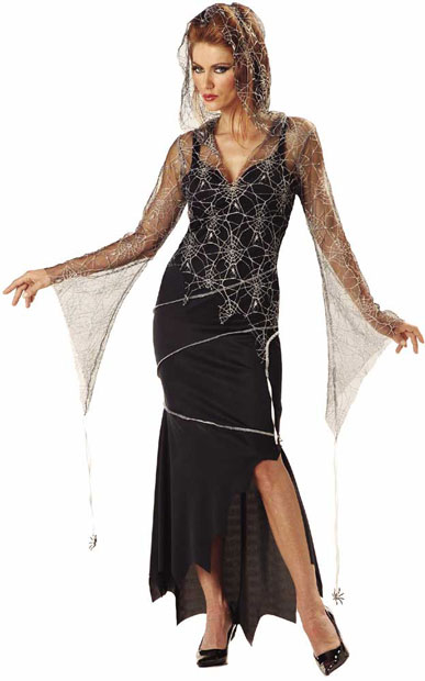 Adult Spider Goddess Witch Costume