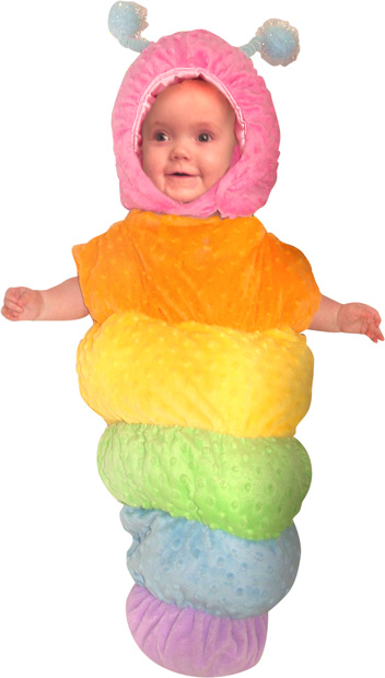 Baby Colorful Caterpillar Costume