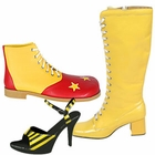 Yellow Costume Shoes