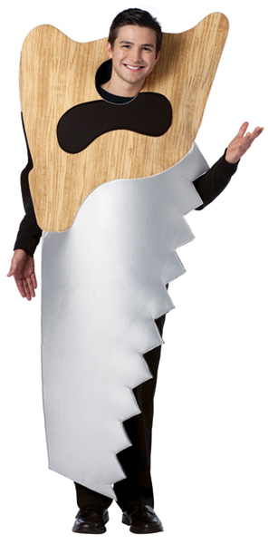 Adult Hand Saw Costume