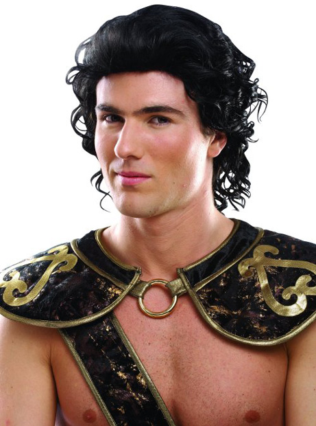 Men's Roman Gladiator Costume Wig