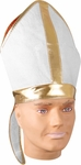 Adult White Bishop Hat