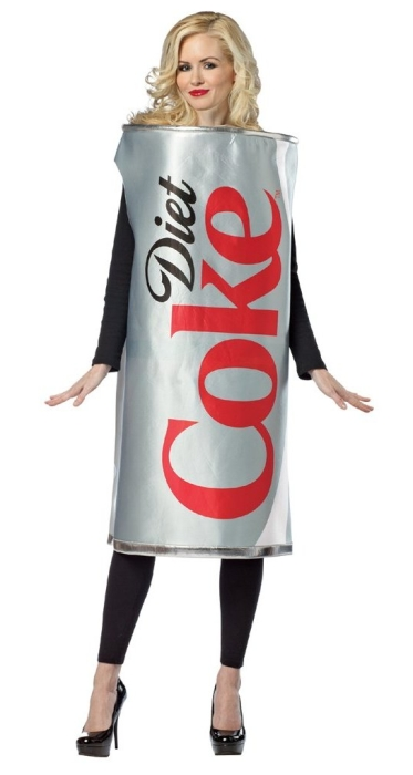 Adult Diet Coke Can Costume